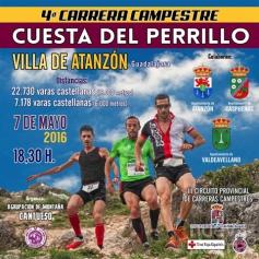 El sábado, carrera de montaña en Atanzón