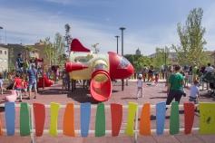 Las zonas infantiles de Guadalajara incorporarán juegos inclusivos