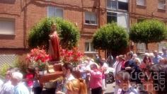 La colonia de Sanz Vázquez celebra la festividad de San Pedro