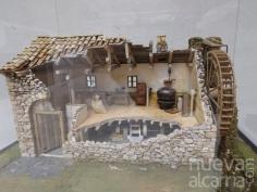 Exposición de la antigua fábrica de chocolate de Brihuega en la Casa del Cordón de Atienza