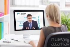 CaixaBank lanza un servicio de asesoramiento especializado para empresas a través de videconferencia