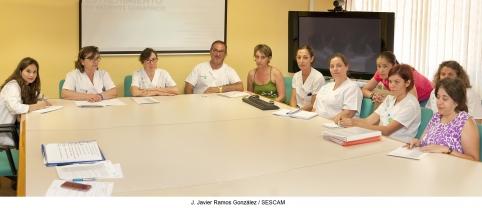 Profesionales de Enfermería del Área Integrada de Guadalajara crean una comisión para mejorar los cuidados a los pacientes