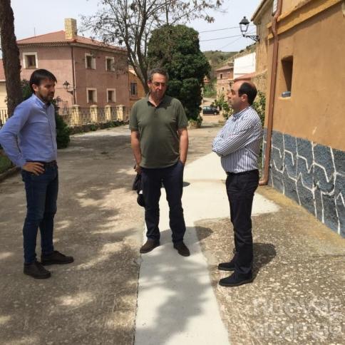 La Diputación invierte 400.000 euros en obras en varios pueblos de la provincia