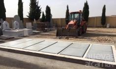 El Ayuntamiento concluye la construcción de diez nuevas sepulturas en Taracena