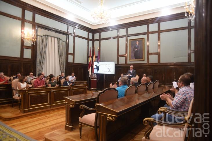 La Diputación reconoce el trabajo de las personas implicadas en la iniciativa 'Journey to the Alcarria'