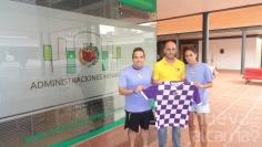 María Delgado y Rubén Castillo entrenarán a los más jóvenes del Club Atlético Guadalajara