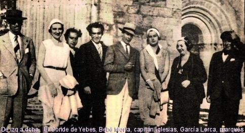 García Lorca, Santo Floro y Carlos Morla, una tarde de verano en Sigüenza