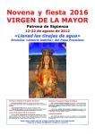 Comienza la Novena en honor a la Virgen de la Mayor, patrona de Sigüenza