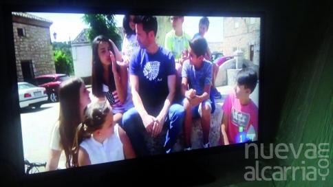 La televisión fija su atención en Hueva y Molina de Aragón