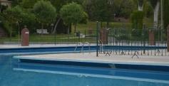 La piscina de San Roque, una de las