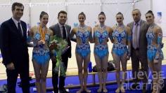 Guadalajara vio en junio los ejercicios que dieron la plata a la selección española de gimnasia rítmica