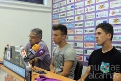 Joshua Zapata y Alex Alonso se presentan como nuevos jugadores del Depor