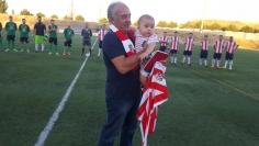 El CF Alovera homenajea a Coloscou