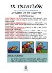 Cifuentes disfrutará este sábado con su triatlón