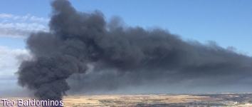 Azuqueca, Cabanillas y Alovera, 'atrapados' por la nube negra
