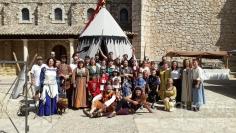 El pasado medieval de Fuentenovilla volvió a estar presente el último fin de semana de agosto