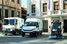 Durante las fiestas se recogieron de las calles de Guadalajara 895.000 kilos de residuos