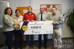 La Paella Solidaria organizada por la Diputación recauda 8.032 euros para la AECC
