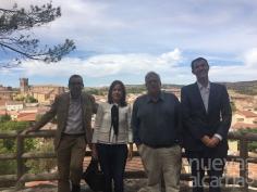La directora general de Turismo destaca las posibilidades de desarrollo de Cifuentes