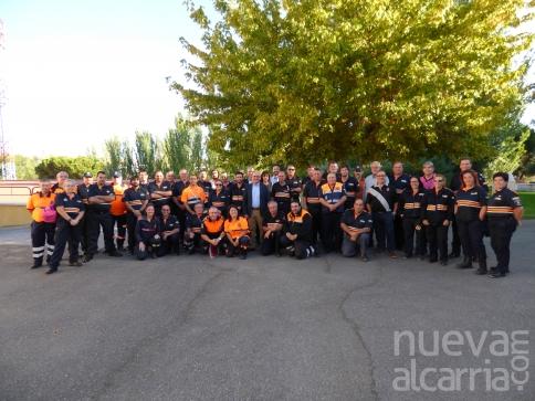 La Escuela de Protección Ciudadana acoge el XIII Encuentro de Jefes de agrupaciones de Protección Civil de Castilla-La Mancha
