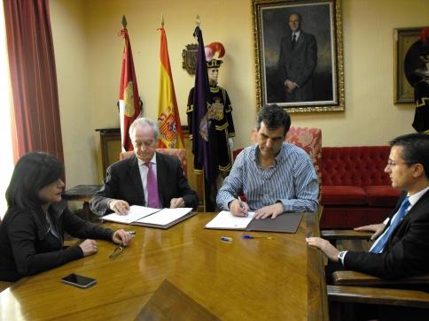 El Ayuntamiento de Guadalajara suscribe un convenio con la Fundación CEEI