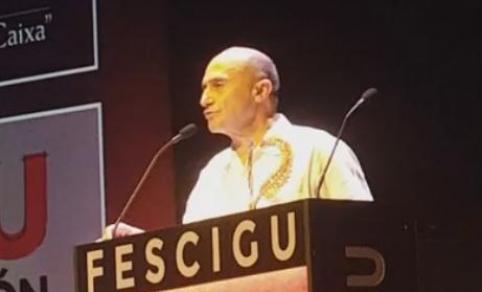 El actor Pepe Viyuela, protagonista de la gala del Fescigu