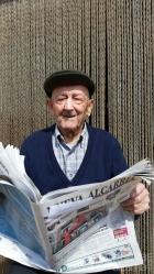 Amparo Pérez cumple cien años en el pueblo al que regresó por amor