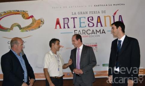 Guadalajara brilla en la celebración de su día en Farcama