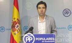 Robisco acusa a Page de mentir respecto a las inversiones que haría en Sanidad en Guadalajara en 2016