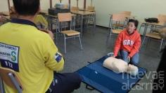 Medio centenar de profesores de Guadalajara se forman para enseñar reanimación pulmonar