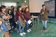 La exposición 'Chicas Nuevas 24 horas', contra la trata de mujeres, llega a la Escuela de Arte de Guadalajara