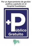 La Plataforma en Defensa de la Sanidad Pública se manifiesta hoy por un aparcamiento gratuito