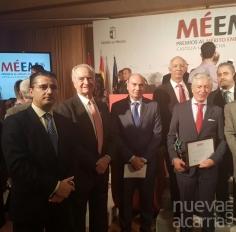 Diputación felicita a Mahou y Dagu por los premios empresariales recibidos