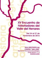 Comienza este jueves el XV Encuentro de Historiadores del Valle del Henares