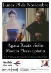 Concierto de violín y piano, este lunes en Ibercaja