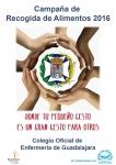 El Colegio de Enfermería organiza una campaña de recogida de alimentos