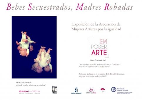 La exposición 'Bebés secuestrados, madres robadas' abre sus puertas este martes en el Museo Provincial
