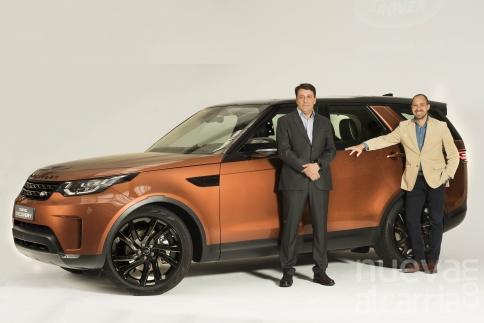 La primera unidad estática del nuevo Land Rover Discovery llega a España
