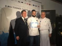 Dos cocineros de Guadalajara en el I Concurso  Euro-Toques de CLM