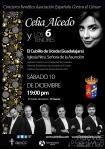 Celia Alcedo y Los 6 Tenores regresan por Navidad a El Cubillo con sus voces solidarias