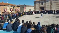 Torrejón del Rey pide que la Rueda de las Candelas sea declarada de Interés Turístico Regional