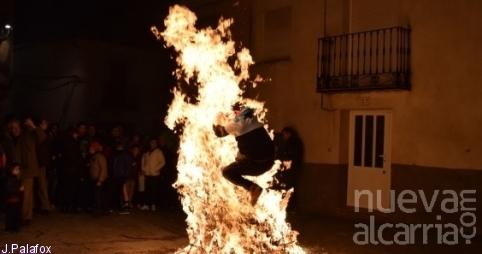 Fiesta de las Hogueras de la Purísma en Horche