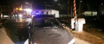 Un coche se salva in extremis de ser atropellado por un tren en Sigüenza