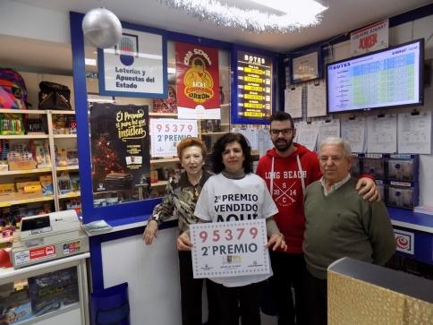 El segundo premio de la Lotería del Niño cae en Marchamalo