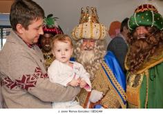 Los Reyes Magos visitaron el Hospital