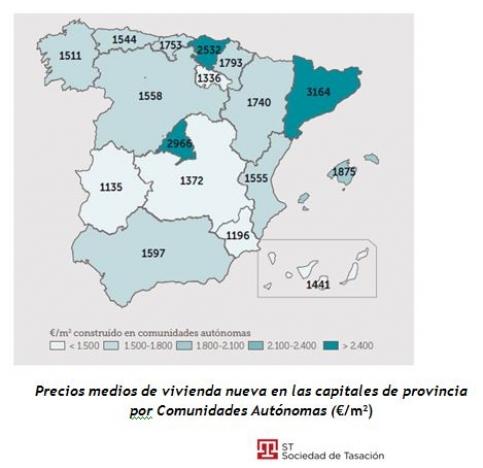 Castilla-La Mancha lidera la lista de regiones con la vivienda más barata