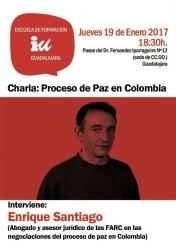 Un asesor de las FARC habla sobre el proceso de paz en Colombia este jueves en Guadalajara