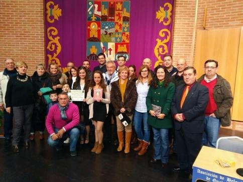 Reconocimiento especial para Miguel Ángel Martínez en la entrega de premios de belenismo
