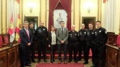 Román preside el nombramiento de dos nuevos cargos de la Policía Local