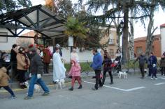 Yunquera de Henares honró a san Antón con la bendicion de los animales